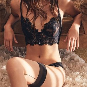 For Love and Lemons Faue Lace Underwire Bra 🖤